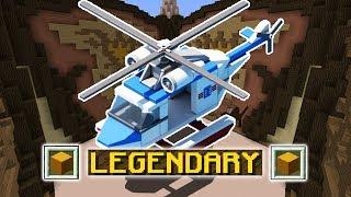 LEGENDARY HELICOPTER (Minecraft Build Battle)