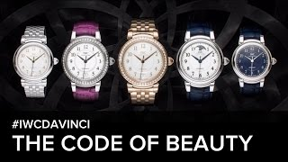 The code of beauty - The IWC Da Vinci Watch Collection film