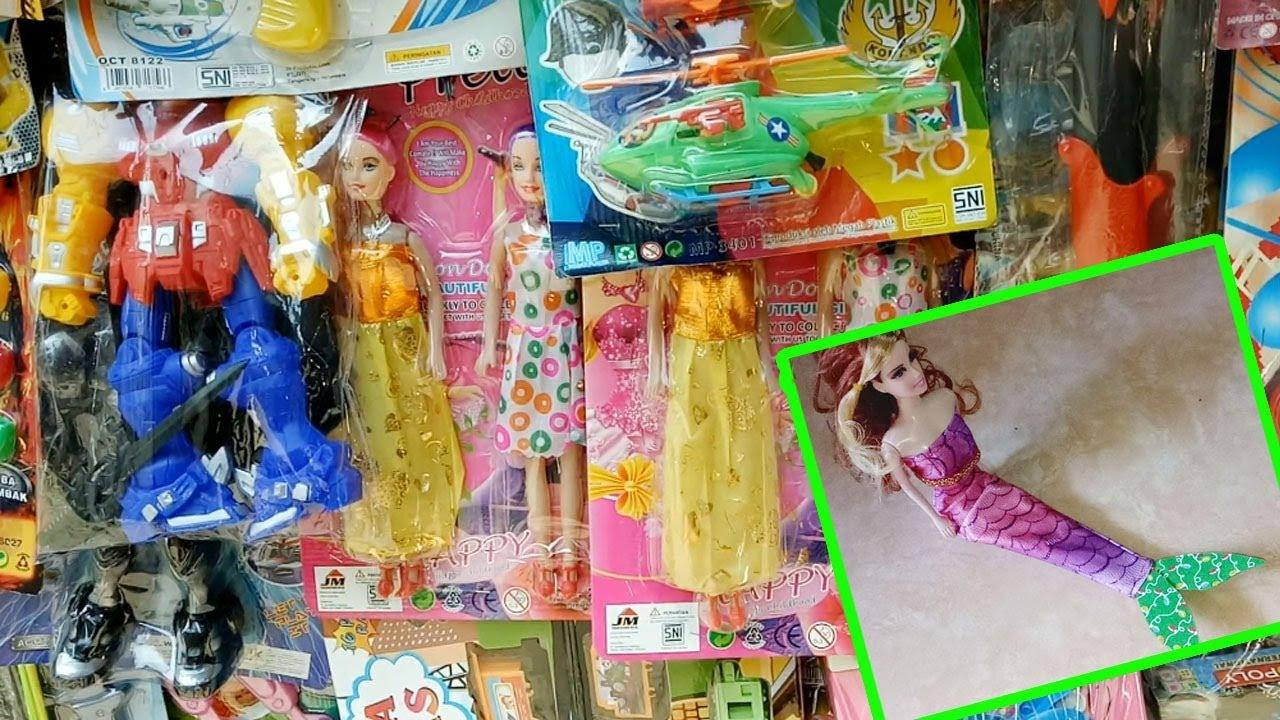 Mencari paman penjual mainan Eps 1 Baju Barbie Mermaid Putri Duyung