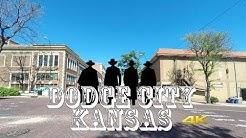 Dodge City Kansas Road Tour driveLapse 4K