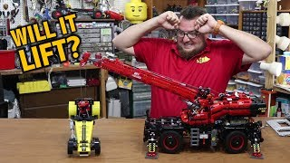 How Much Can the New LEGO Technic Crane Lift?