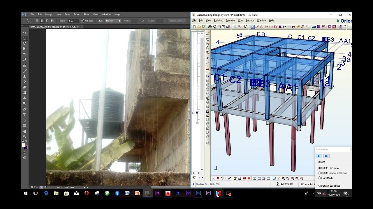 Download Simple structure design using CSC ORION - Tutorial
