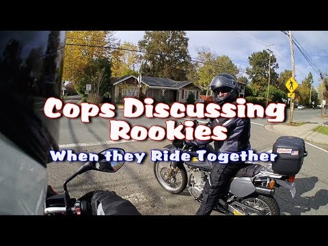 Riding Sonoma Foothills & another cop tells all, hilarious cop stories | Old Cop Motovlogs