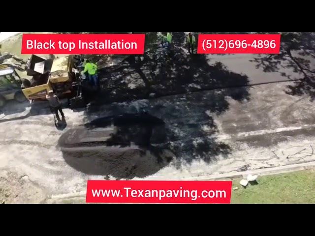 How to properly overlay asphalt | Texan Paving, LLC.