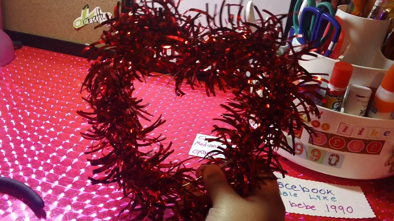 San valentin colgante de corazon con letrero regalo o - Decoraciones para san valentin ...
