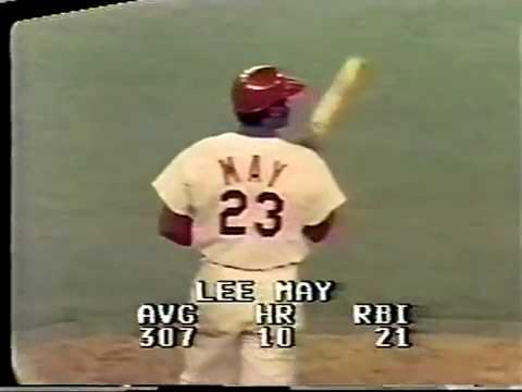 1971 06 03 Chicago Cubs at Cincinnati Reds Ken Holtzman Cubs 2nd No Hitter