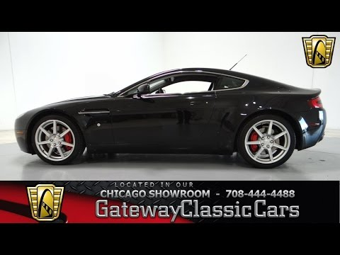 2006 Aston Martin V8 Vantage Gateway Classic Cars Chicago #752