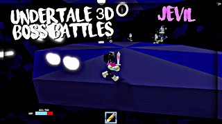 Roblox Undertale 3D Boss Battles: Jevil (Kris)