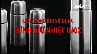VTC14 | Giật mình với  nguy cơ ung thư khi sử dụng bình giữ nhiệt Inox Trung Quốc