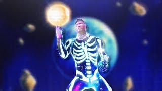 I might get banned for using this GALAXY SKULL TROOPER SKIN (Fortnite)