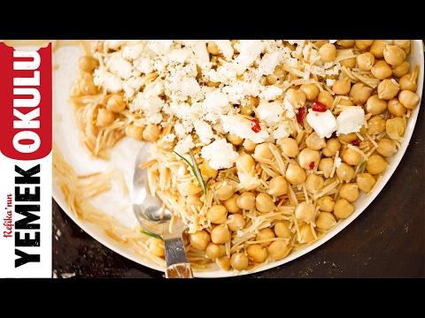Nohutlu Tel Şehriye | 5 Dakikalık Yemekler