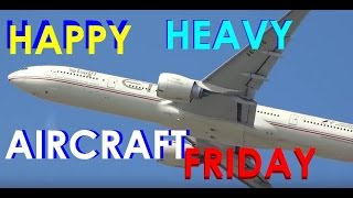 (HD) HEAVY AIRCRAFT FRIDAY!!! Watching Airplanes Plane Spotting Chicago O