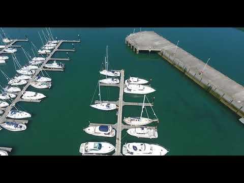 Bangor  Marina Northern Ireland  Drone