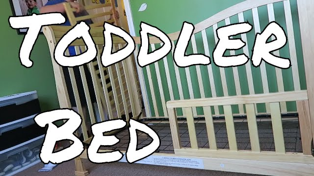 Changing A Crib Into Toddler Bed Youtube