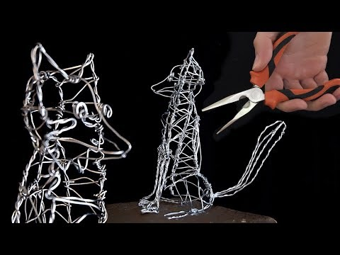 The Art of Wire Sculpting | Wire sculpture show and tell