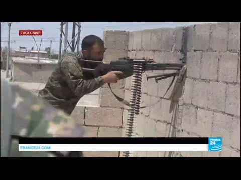 Syria: Islamic state group counter-attacks in Raqqa as fierce fighting rages