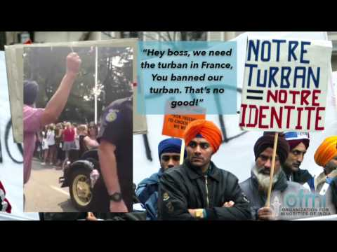 """""""You banned our turban,"""" says Sikh to California's French Consul"""