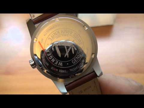 ce423b60a93 Unboxing  Relógio Wenger Field Classico 72801W (Original) - YouTube