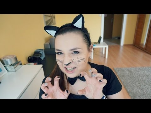 Halloween Czarny Kot Przebranie Last Minute Youtube