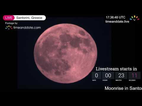 July 27, 2018 Total Lunar Eclipse: LIVE Stream