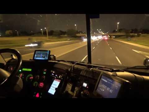 2934 night time trucking, Chicago Illinois