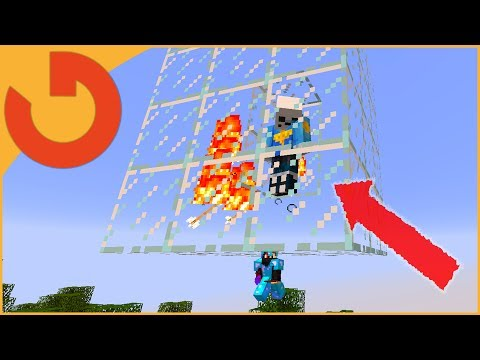 CATCHING AND PUTTING HACKER ON DISPLAY! (Minecraft Trolling S1E7)
