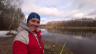 Удочка Волжанка Вимба на Гауе Женская рыбалка Я не учу...я ловлю.Рыбец.Сырть.