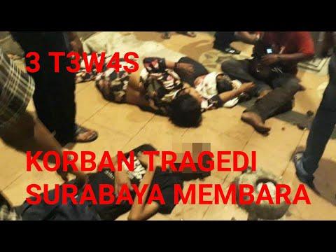 3 Orang Tewas, Detik-detik Tragedi Kereta Surabaya Membara Terekam Kamera Mp3