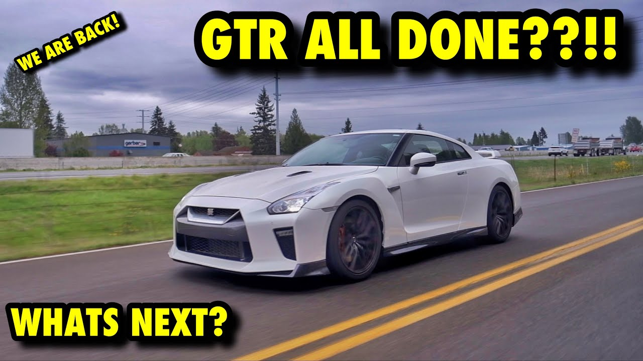 Rebuilding A 1000hp Nissan GT-R From Auction! (Part 16) WE ARE BASICALLY DONE!! WHATS NEXT?
