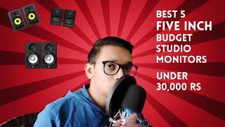 Best 5 Studio Monitors | Under 30K budget | Music Production speakers