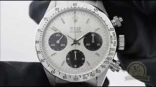 Швейцарские часы Rolex Daytona Cosmograph(Обзор. Краткая характеристика часов Rolex Daytona Cosmograph. Часовщик - ремонт швейцарских часов www.chasovshik.ua www.facebook.com/cha..., 2014-05-27T14:00:13.000Z)
