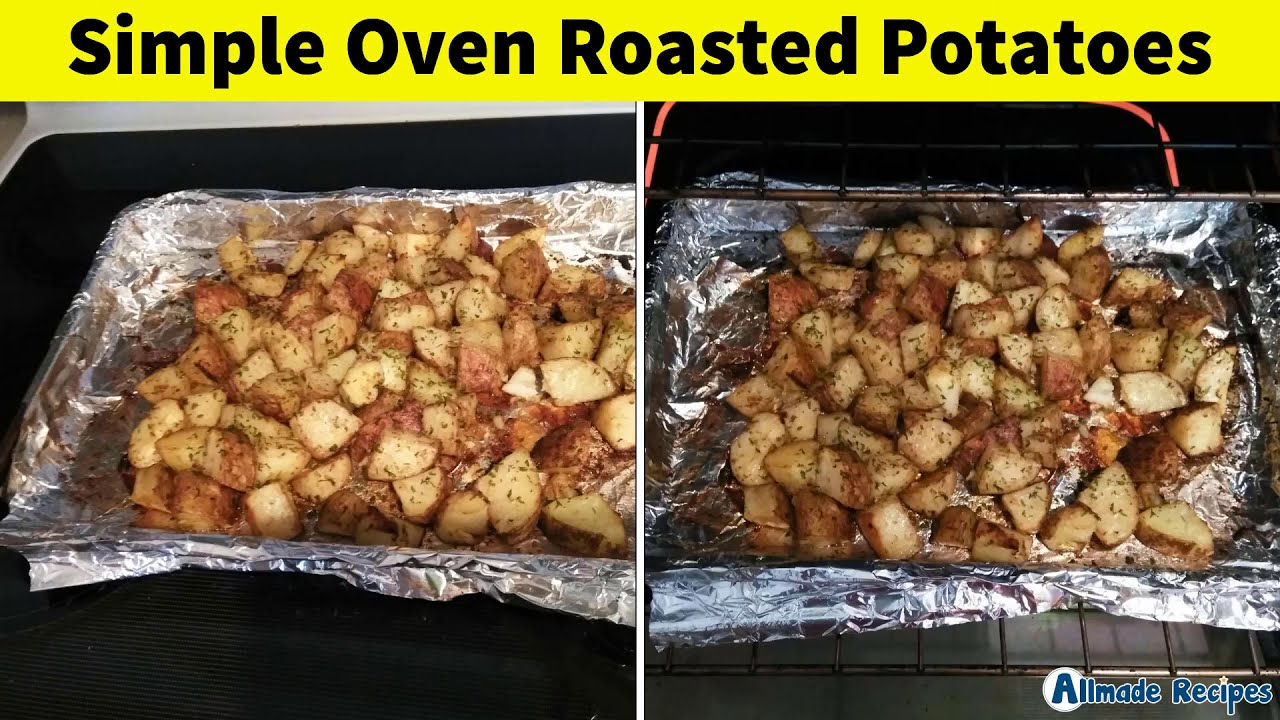 Simple Oven Roasted Potatoes | Side Dish Recipes