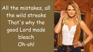 Download Miranda Lambert ~ It All Comes Out In The Wash (Lyrics) Mp3 and Videos