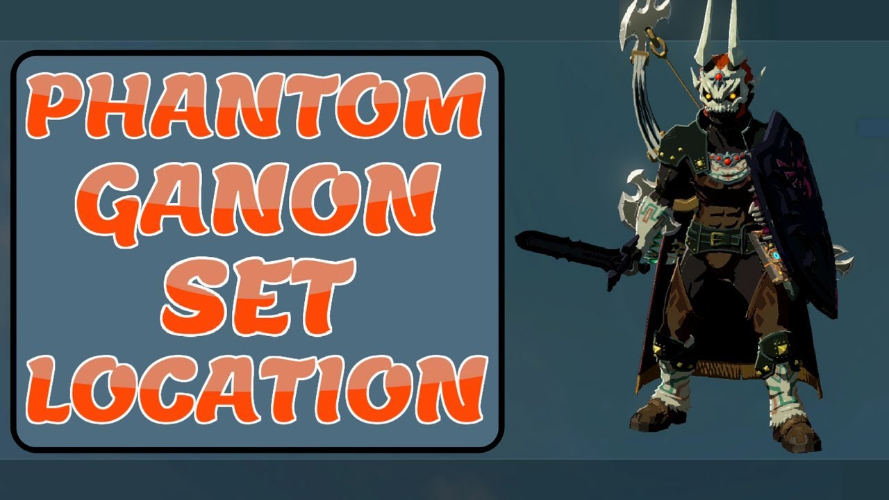Zelda Botw Phantom Ganon Set Location
