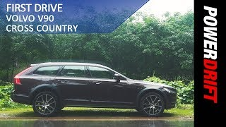 Volvo V90 Cross Country : First Drive : PowerDrift