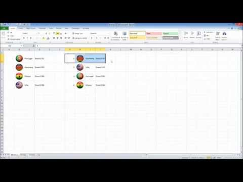Excel Tutorial : How to Display Images Dynamically based on Specific Cell Contents