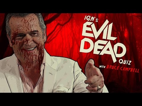 Bruce Campbell Takes IGN's Evil Dead Quiz