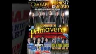 Conjunto Primavera y Bryndis x Siempre...En El Sarape!!