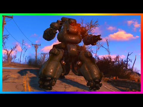 Fallout 4 - How To Get A Powerful Sentry Bot Follower! - Most LETHAL Robot Follower! (FO4)