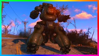 fallout 4 how to get a powerful sentry bot follower most lethal robot follower fo4