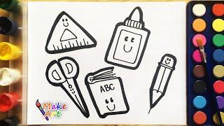 Simple Drawings School 3