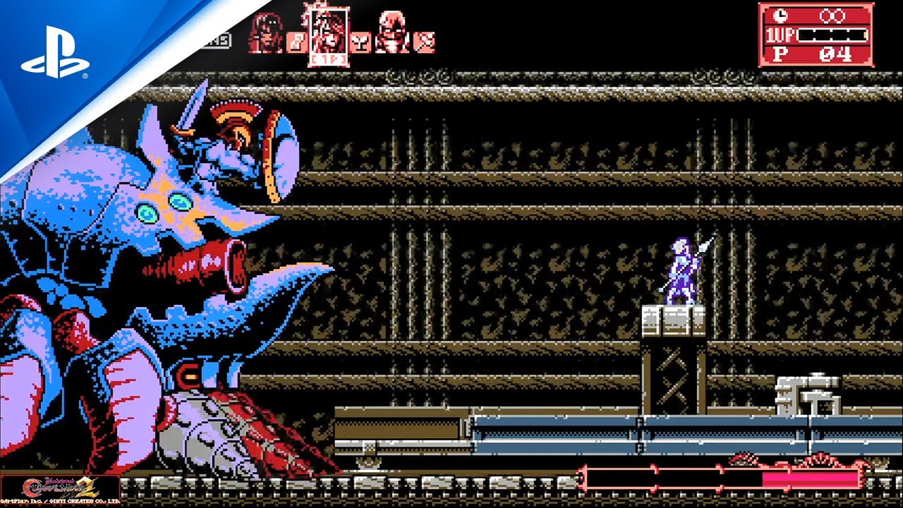 『Bloodstained: Curse of the Moon 2』プレイ動画