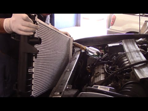 How To Replace A Radiator And Thermostat