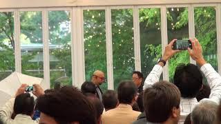 荒川静香 YAMAHA・BOLT950 ドライバーズパーティー 東京モーターショー ...