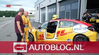 Rijden in de Civic raceauto van Tom Coronel!