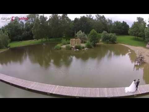 Jana & Ömer - Deutsche Türkische Hochzeit Dügün - Luftaufnahme (Drohne) - Rizgan Video