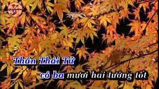 KARAOKE TC  SU TICH PHAT THICH CA NGANCHAU SONGCa