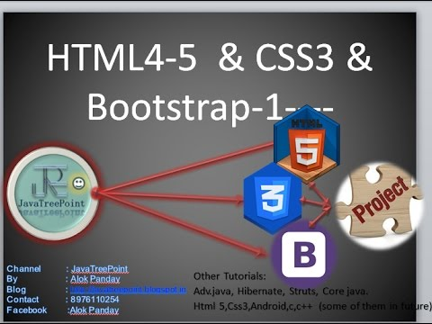 1-HTML5&4 Tutorial  In Hindi By Javatpoint (history Of Html) In Deep Explanation