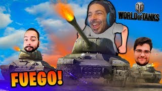 3 TANQUES MUY MANCOS XDD - WORLD OF TANKS - Nexxuz