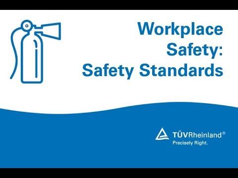 Workplace Safety: Safety Standards and OSHA 1910